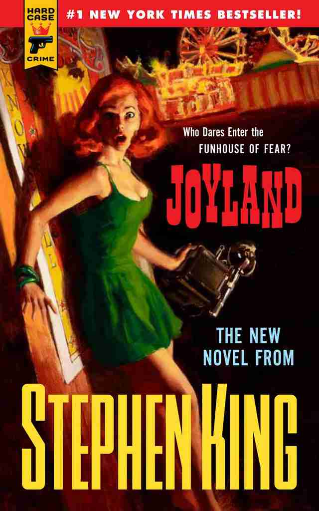 Joyland cover, Stephen King book, paperback
