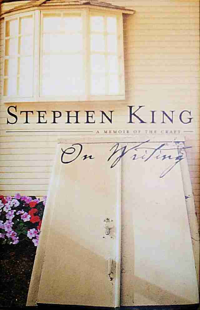 On Writing cover, cellar door, Stephen King writing