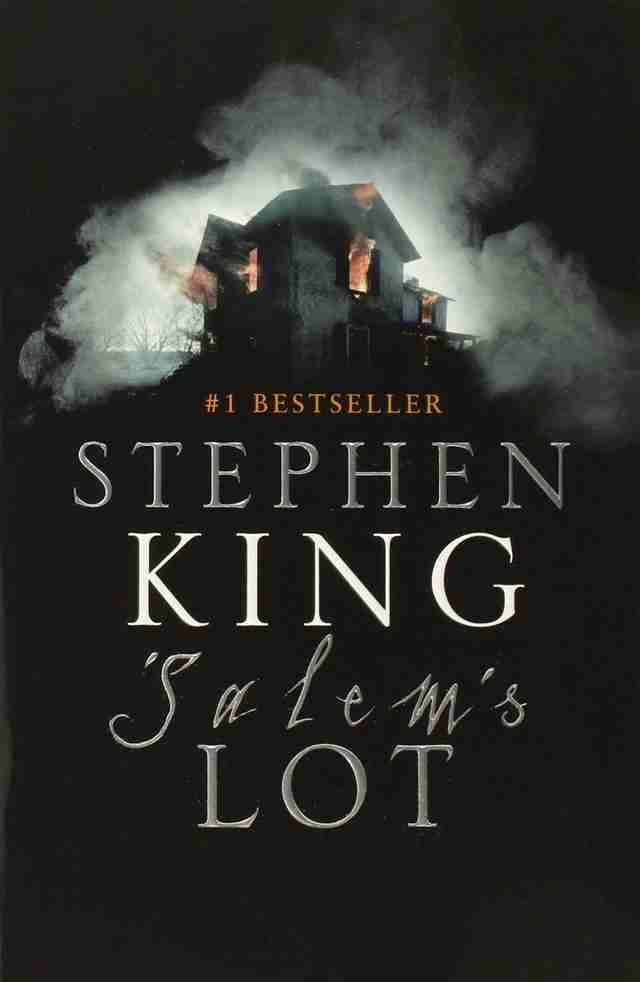 Salem's Lot book, Salem's Lot cover, Salem's Lot Stephen King