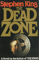 Dead Zone book, Dead Zone cover, Dead Zone Stephen King