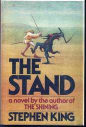 The Stand cover, book, Stephen King