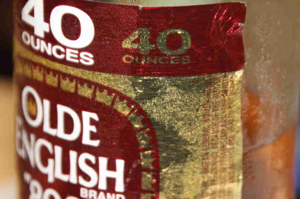 olde english malt liquor forty