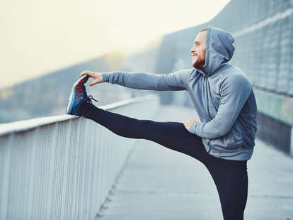 stretching, running, outdoor workout, exercises