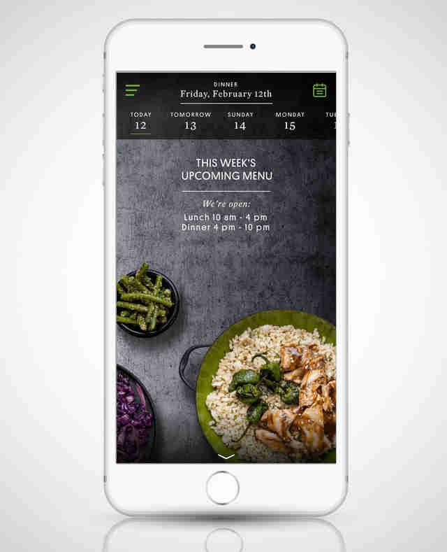 sprig app sf san francisco food restaurant iphone