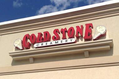 cold stone creamery sign
