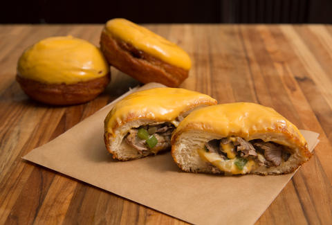 Philly Cheesesteak Donuts -- Thrillist Recipe