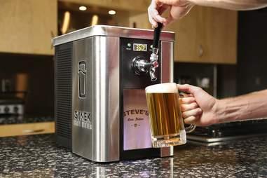 Synek countertop draft system beer gadget