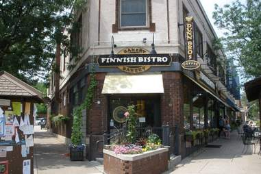 Exterior of the Finnish Bistro Wine Bar