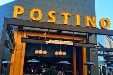 Exterior of Postino wine bar in Arcadia, Phoenix, Arizona