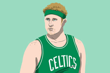Celtics superfan Brian Scalabrine, aka White Mamba
