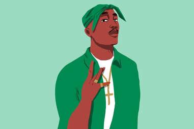 Celtics superfan Tupac