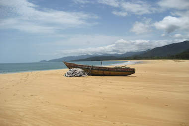 Bureh Beach in Freetown, Sierra Leone, Africa