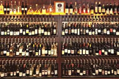Wine case at Panorama