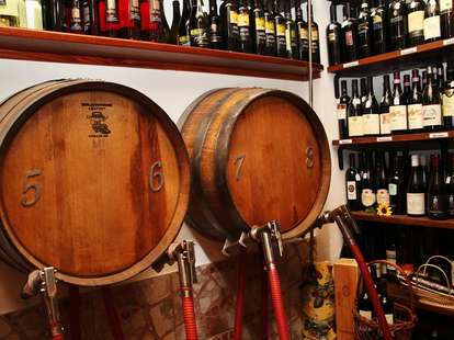 Le Virtù wine on tap