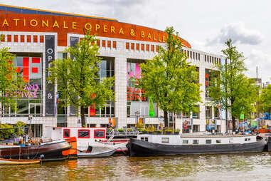 Dutch National Opera in Amsterdam, Netherlands