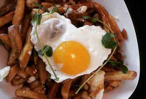 breakfast poutine, poutine, The Brooklyn Street Local