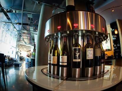 Wine counter at Amuse