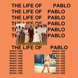 Kanye West, Life of Pablo cover, album art