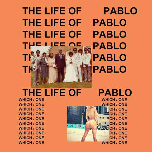 Kanye West, Life of Pablo cover, album art