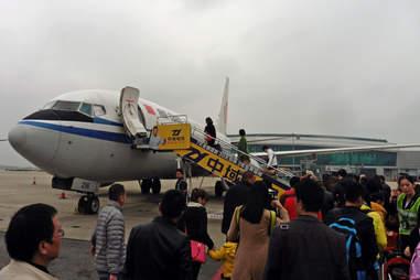 Flight boarding