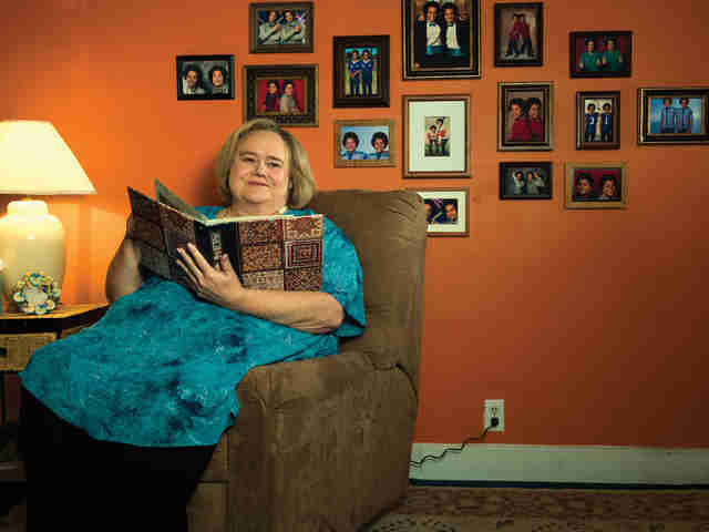 Louie Anderson as Christine Baskets on FX's 'Baskets'