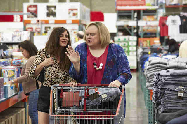 Louie Anderson as Christine Baskets on FX's Baskets