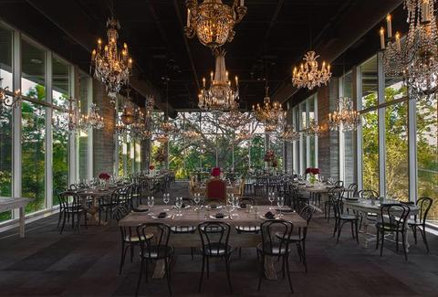 interior of the dunlavy in houston texas