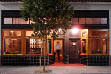 Exterior of Yield Wine Bar in Dogpatch, San Francisco, California