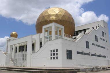 Chong Hua Sheng Mu Holy Palace in Houston, Texas