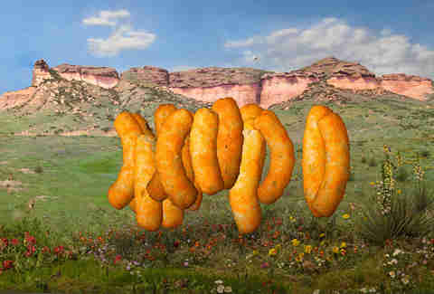 cheetos art