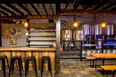 taproom at Memphis Made Brewing