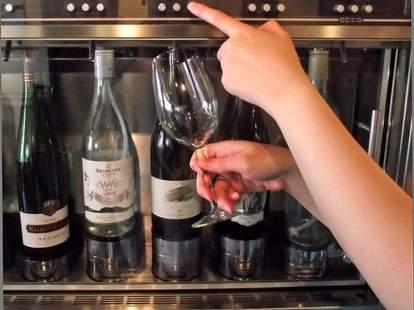 self serve wine bar Greencork in Memphis Cooper Young neighborhood