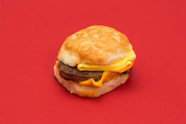 McDonald's Steak, Egg, and Cheese Biscuit