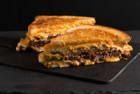 Tex-Mex Patty Melt