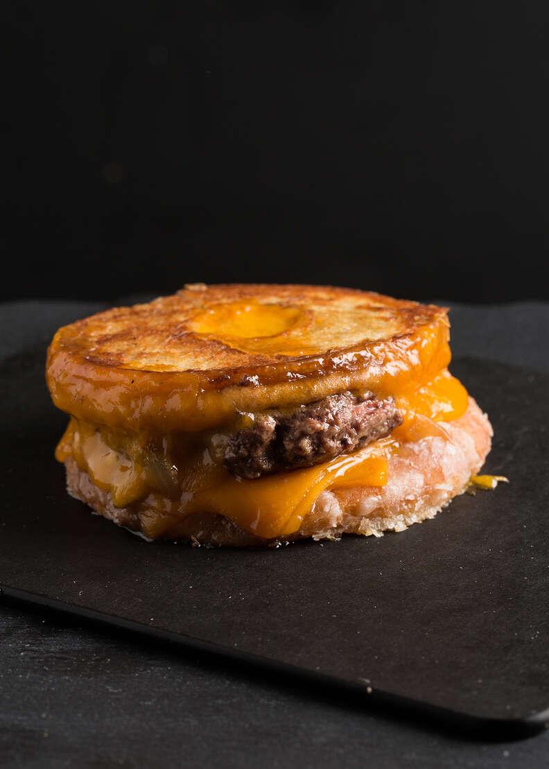 Donut Patty Melt