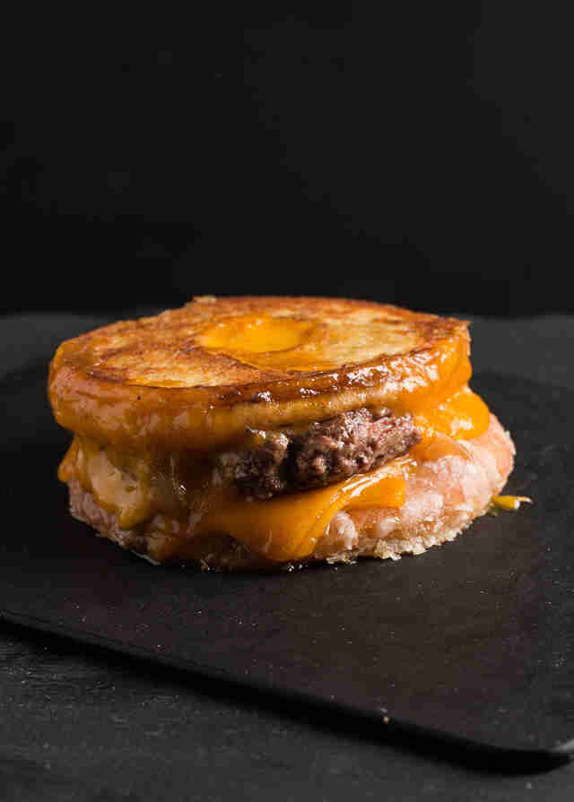 Donut Patty Melt