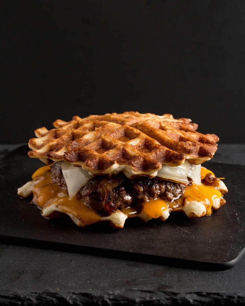 Waffle Patty Melt