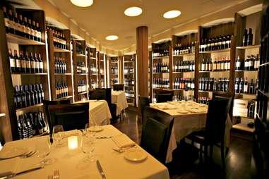 Interior of  B&B Ristorante wine bar and restaurant at the The Venetian in Las Vegas, Nevada