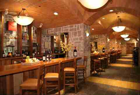 Interior of Wine Cellar & Tasting Room bar at the Rio in Las Vegas, Nevada