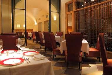 Interior of Delmonico Steakhouse at The Venetian in Las Vegas, Nevada