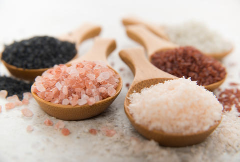 different types of sea salt