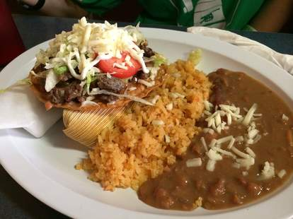 mexican food beans and rice torres mexican denver
