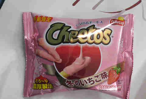 strawberry cheetos