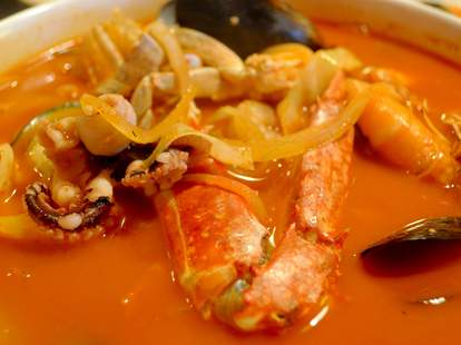 yung gong denver spicy squid crab soup