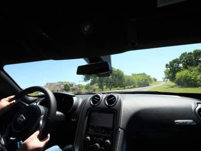 Dodge Viper ACS on a back road