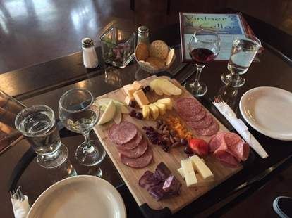 Vintner's Cellar, charcuterie plate, Portland wine bars