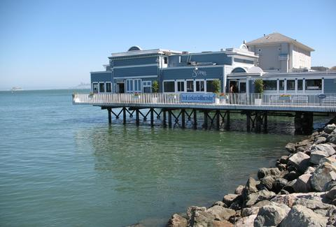 Scoma's Sausalito in San Francisco, California