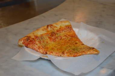 Cheese slice from Tony's Slice House