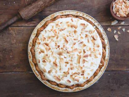 coconut cream pie, Three Babes Bakeshop, San Francisco pie