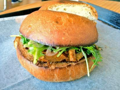 The Wooly Pig, San Francisco sandwiches, pork belly sandwich